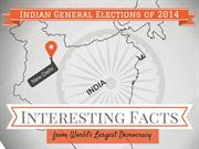 Interesting facts from India's #Elections2014