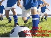 Child Development in Youth Sports