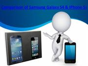 15_4_Comparison of Samsung Galaxy S4 & IPhone 5s
