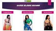 sarees blouse design