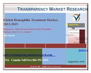Global Hemophilia Treatment Market, 2013-2019