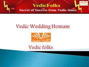 vedic wedding homam Ensuring a happy married life