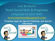 pragmatic language, apps for speech therapy