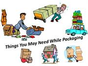 Things You May Need While Packaging