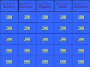 Male Reproductive System Jeopardy