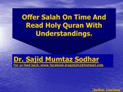 Satan/Lucifer Is Everywhere..Learn To ..Dr. Sajid Mumtaz Sodhar