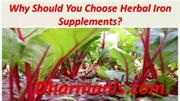Why Should You Choose Herbal Iron Supplements?