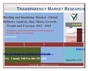 Roofing and Insulation Market - Global Industry Analysis, Size, Share,