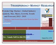 Protein Chip Market - Global Industry Analysis, Size, Share, Growth, T