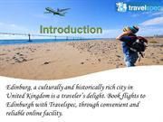 How to book low fare rates Flights to Edinburgh?