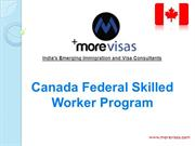 Canada Federal Skilled Worker Program 2014 | MoreVisas