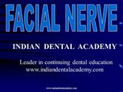 FACIAL NERVE /fixed orthodontic courses by Indian dental academy