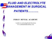 fluid acid base balance /fixed orthodontic courses by Indian dental ac