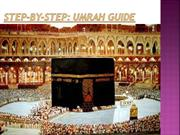 Umrah guidestep by step