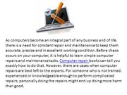 computer repair and pc repair computer repair services