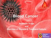 Anti Cancer Drugs and Blood Cancer