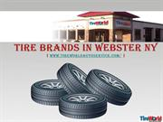 Tire brands in Webster NY