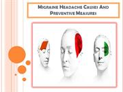 Migraine Headache Causes And Preventive Measures