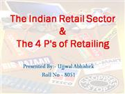 4  P's  of  RETAIL  &  Indian  Retail  Sector