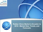 Rubber Glove Market in Ecuador to 2018