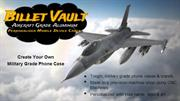 Billet Vault Aircraft Grade Aluminum Personalized Mobile Device Cases