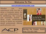 Dental Crown Austin- TMJ Treatment- Cosmetic Dentist
