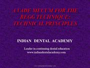 JC- BEGGS /certified fixed orthodontic courses by IDA