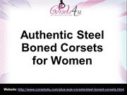 Authentic Steel Boned Corsets for Women