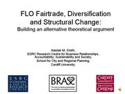 FLO Fair Trade Diversification and Structural Chan