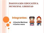 Institución educativa municipal libertad