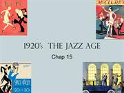 1920's  the jazz age (2)