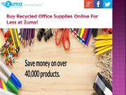 Buy Office Supplies Online For Less at Zuma Office