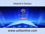 Live Football Chelsea vs At. Madrid Stream