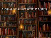 Virginia Book Fair Company Option