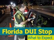 Florida DUI Stop : What To Expect