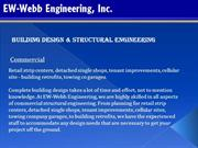 Building Design & Structural Engineering