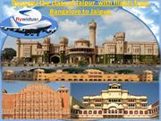 Now get flight from Bangalore to Jaipur