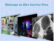 Hire Service Pros - Buy Professional Wedding Photographers & Videograp