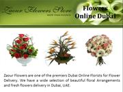 Dubai Online Florists For Flower Delivery