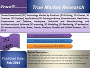 Three-Dimensional (3D) Technology Market by Products