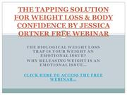 THE TAPPING SOLUTION FOR WEIGHT LOSS & BODY CONFIDENCE BY JESSICA