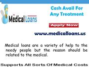 Obtain Secured Medical Loans For Bad Credit Score