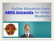 Online Education from ABMS University