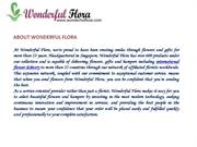 Wonderful Flora-Anything For You