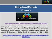 High Speed Cameras Market