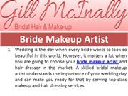 Avail Complete Bridal Makeup Solutions in London