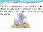 Travel And Books: A Perfect Combination