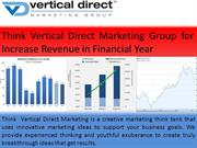 Think Vertical Direct Marketing Group for Increase Revenue in Financia