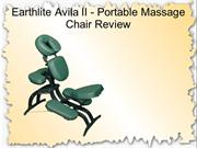 Earthlite Avila II - Portable Massage Chair Review