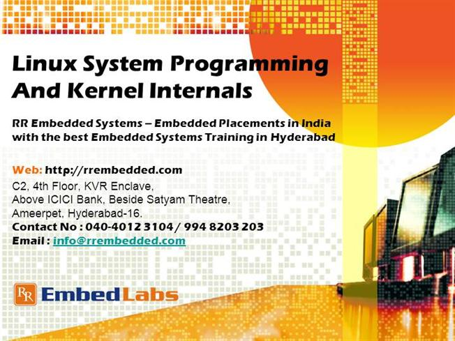 Embedded Systems Training India Linux System Programming Authorstream